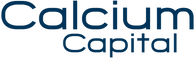 Logo Calcium Capital - Bleu nuit décadré