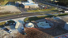 Gas station construction A1A, circle K