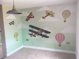 childrens bedroom wallpaper