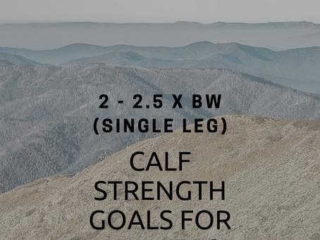 Calf Strength Goals for Runners (Part 1)