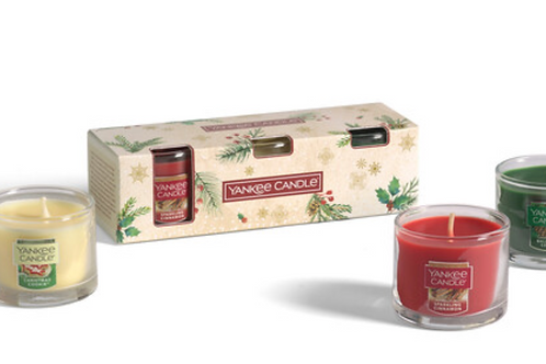 Gift set_Confezione 3 candele sampler vetro - MAGICAL C