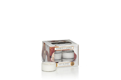 SOFT BLANKET - Tealight profumate