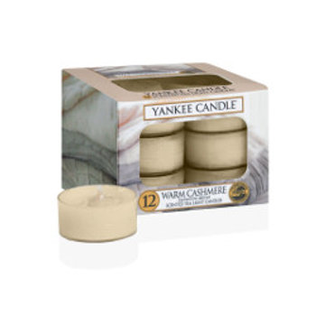 WARM CASHMERE - Tealight profumate