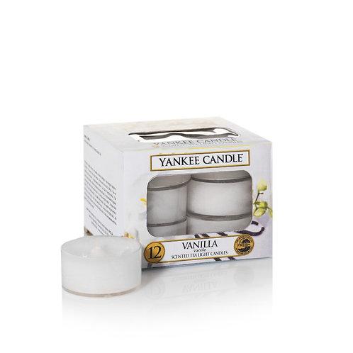 VANILLA - Tealight profumate