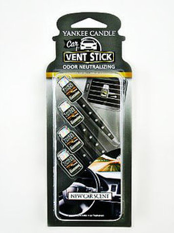 NEW CAR SCENT - Car Jar Vent Stick