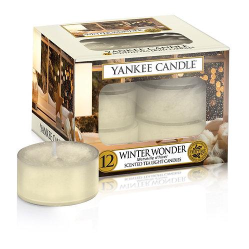 WINTER WONDER - Tealight profumate