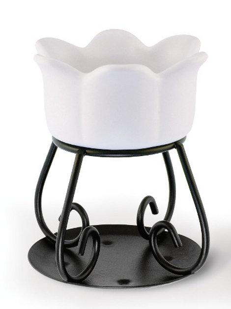 Bruciatore - PETAL BOWL - Bianco