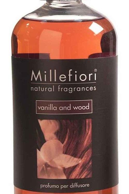 MF - Ricarica fragranza - VANILLA AND WOOD - 500ml