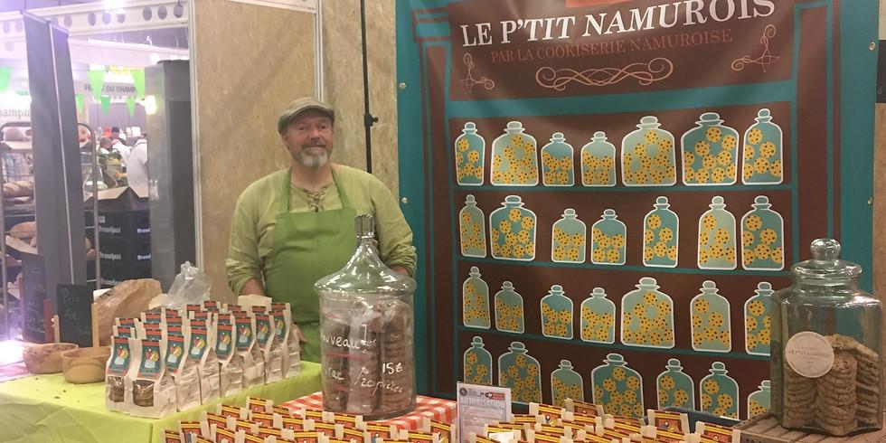 Visite SPG Cookiserie Namuroise