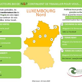 LUXEMBOURG N : producteurs BIO N&P