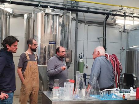 La Brasserie Coopérative Liégeoise : les éleveurs de bière nouvellement Nature & Progrès