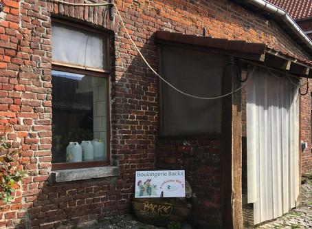 Visite de la boulangerie Backx (Wodecq) : le pétrin de père en fils