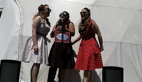 Freddie My Love performed by The Fleurelles Harmony Trio