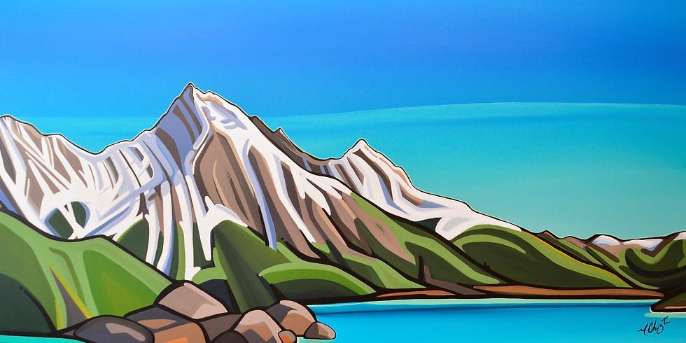 """New Series of Paintings""- Marie-Christine Claveau"