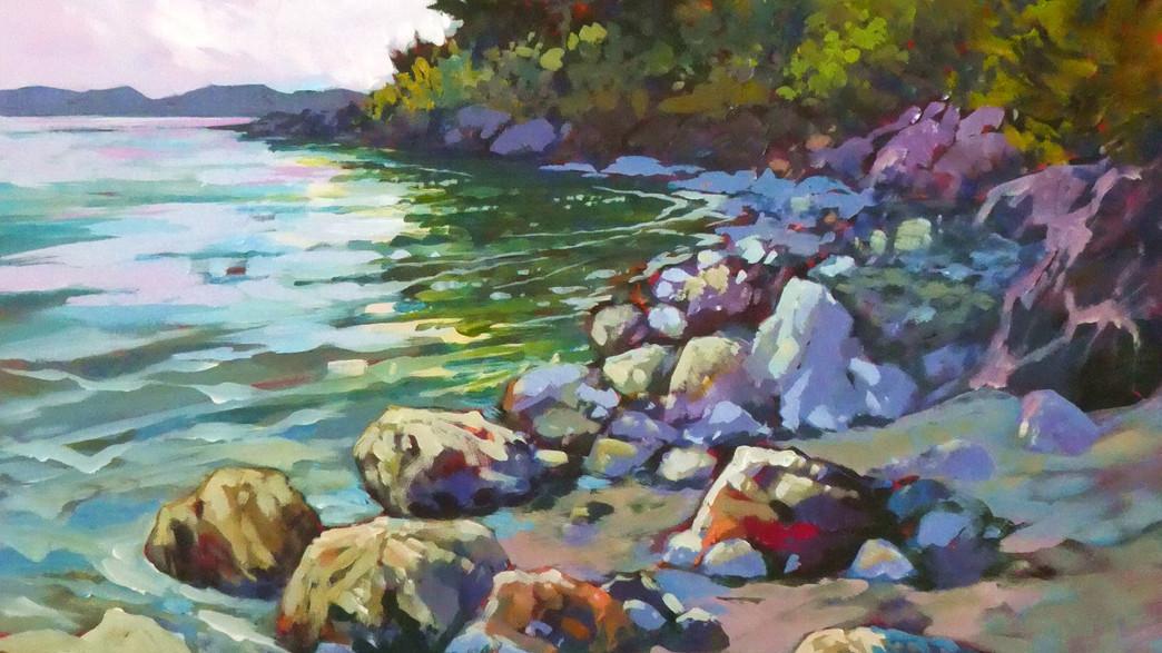 Perry Haddock, Shoreline Kaleidoscope..jpg