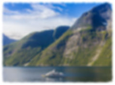 Beautiful Fjords in Norway, M/Y Daydream