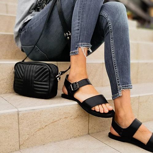 Set - sandálky a kabelka