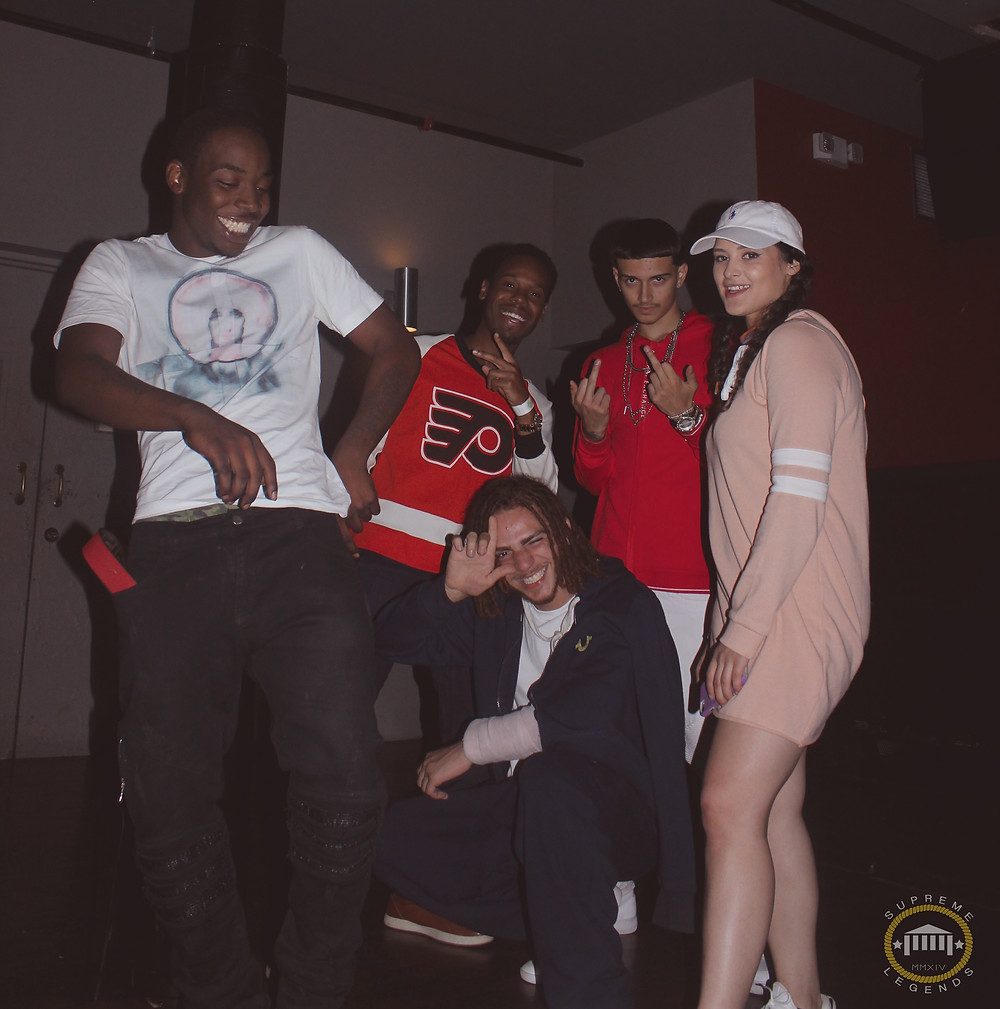Swurve, DaanBeats, Mitri500, Ana Bree, Fitted Kub(in front