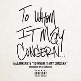 losLAUREN 718 - To Whom It May Concern prod. DJ Scratch