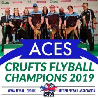 Aces Flyball Team