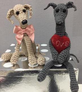 CrochetedItalian Greyhounds
