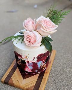 Almond Amaretto Cake | Almond Paste | Raspberry Jam