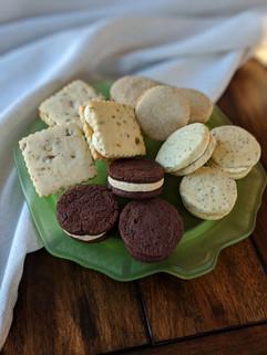 Shortbread Sandwich Cookies