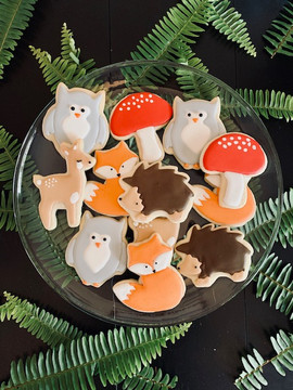 Woodland Creature Cookies