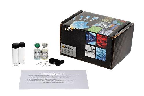 Anti-A, Anti-B Lyophilized Serum Set