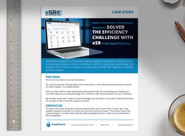 Case Study: eSR with Flex Reports and Aliquot