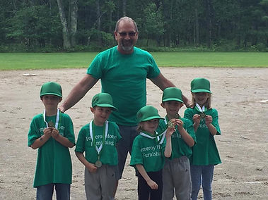 Coach Marv Radtke Pomeroys TBall Team