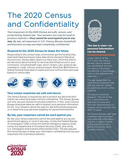 The 2020 Census and  Confidentiality_Pag