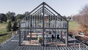 Como reducir los desechos en una obra de Steel Framing
