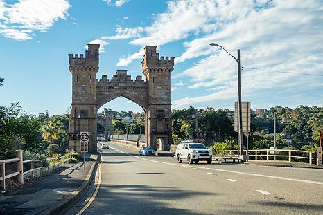 Long Gully Bridge in Northbridge, NSW