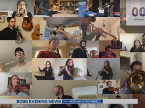 """""""The Peabody Virtual Orchestra"""" Featured on CBS News"""