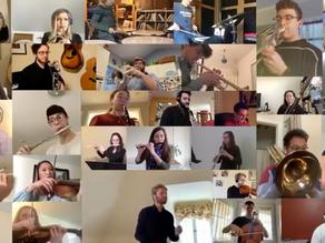 Facing an uncertain future, Maryland music graduates virtually adapt and persevere