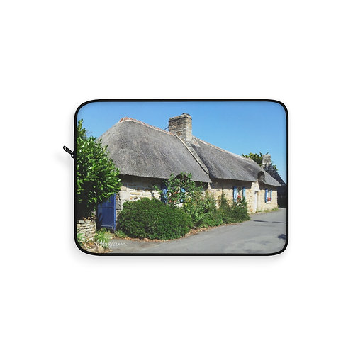Thatched Cottage Laptop Sleeve