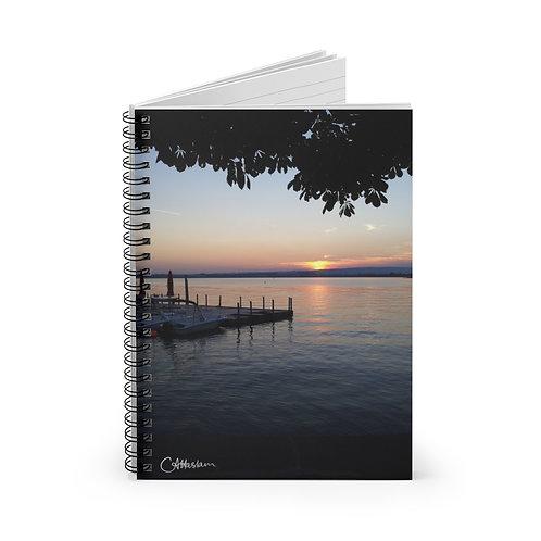Lake Zurich Sunset A5 Notebook