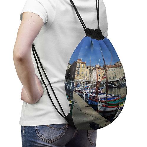 St Tropez Drawstring Bag