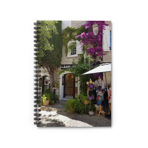French Boutique Spiral Notebook
