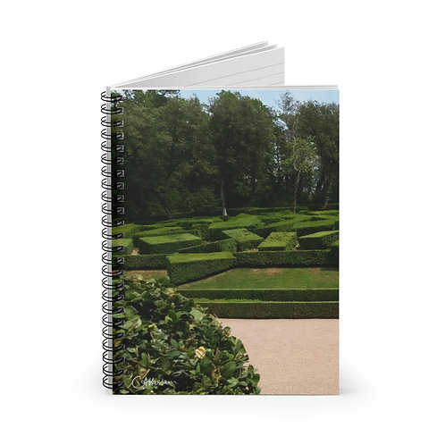 Dordogne Topiary A5 Notebook