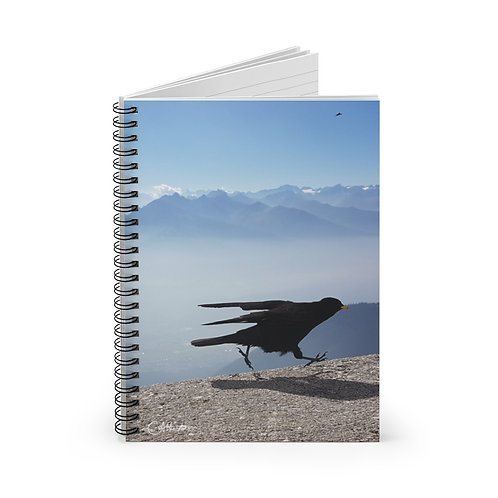 Give COVID the Bird A5 Notebook