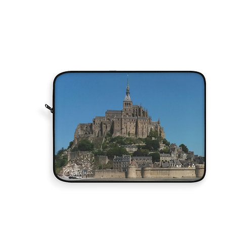 Mont St Michel Laptop Sleeve