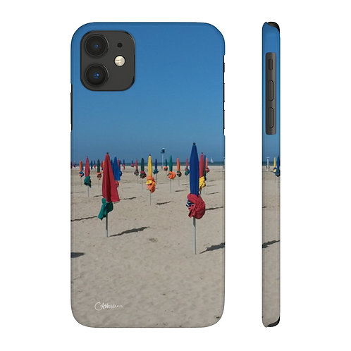 Deauville Beach Slim Phone Cases