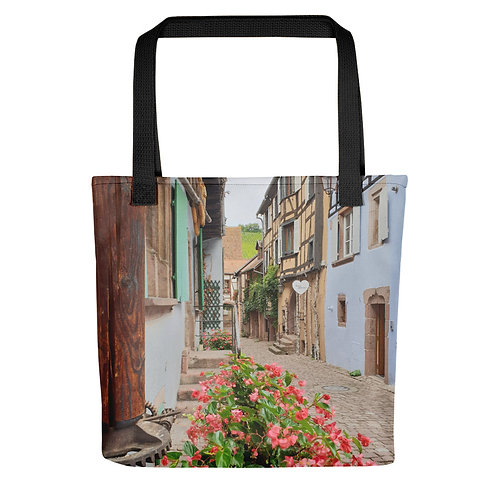 Laneway of Colours Tote bag