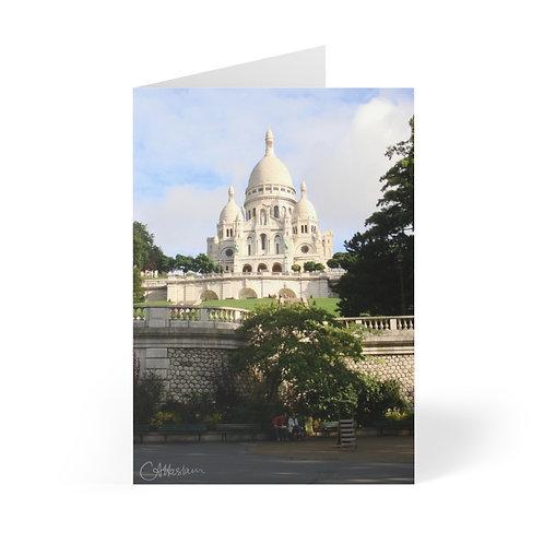 Sacre Coeur Greeting Cards (8 pcs)