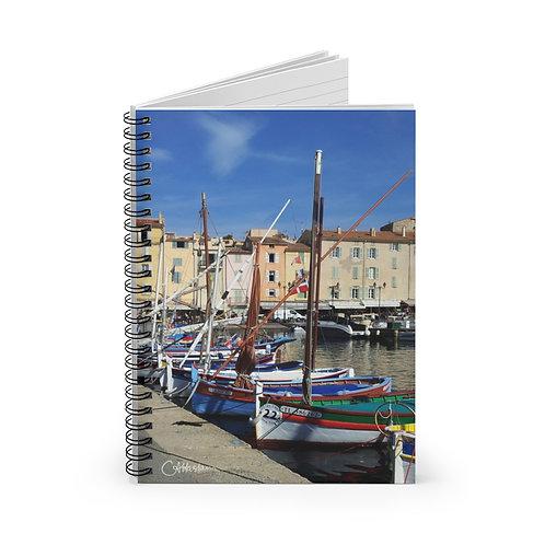 St Tropez A5 Notebook