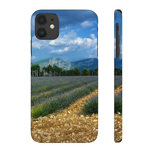 Provence Lavender Slim Phone Cases
