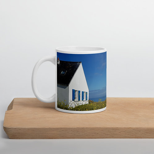 Travel not to find yourself inspirational mug
