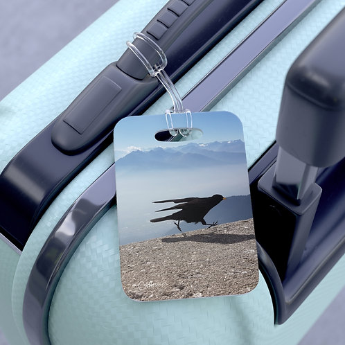 Give COVID the Bird bag tag